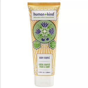 Human + Kind Body Soufflé Vegan Skincare Lotion 6o
